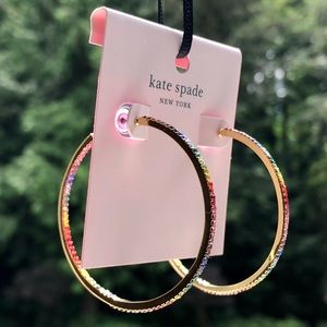 kate spade Jewelry - 🍒 NEW KATE SPADE EARRINGS - SAVE THE DATE